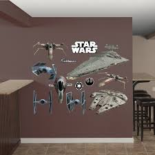 amazon fathead star wars original trilogy spaceships amazon fathead star wars original trilogy spaceships collection real decals home kitchen