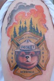 smokey the by chris krapohl tattoos