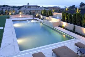 Fire Pit With Water Feature - 29 amazing modern swimming pool designs designing idea