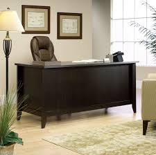 Wooden Desks For Sale Sauder Outlet Shoal Creek 65 U0027 U0027 Executive Desk 30 1 2 U0027 U0027h X 65 U0027 U0027w X
