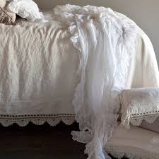 bella notte bed scarf whisper linen