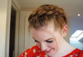 plait headband hair how to plait headband updo gemma cartwright