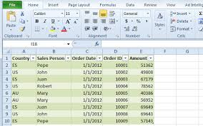 Simple Excel Spreadsheet Template How To Use Excel Pivot Tables