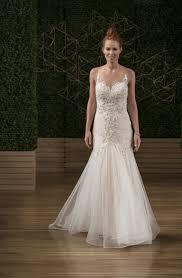 trumpet wedding dresses sottero and midgley illusion neckline embellished trumpet wedding