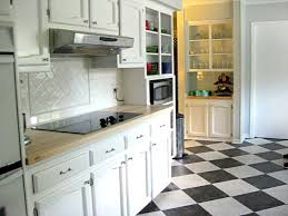 black and white tile kitchen ideas amazing decoration black and white tile kitchen clever design