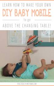 Changing Table Mobile Diy Wall Mounted Baby Mobile For The Changing Table