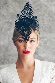 lace fascinator 20 best racing fascinators headpieces and hats images on