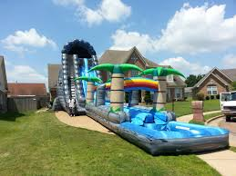 jimbo u0027s inflatables water slides