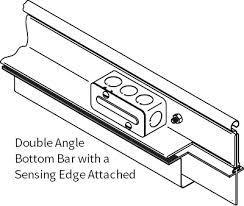 Overhead Door Safety Edge Rolling Service Door