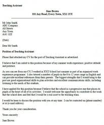 cover letter educational assistant cover letter education