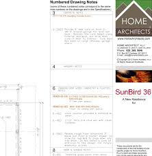 architectural drawing sheet numbering standard specnote system for house design mountain home architects