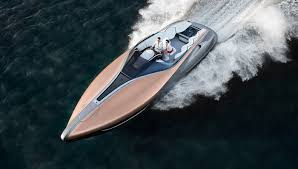 white lexus with bow lexus launches a 42 u2032 yacht