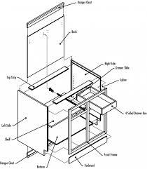 4 Drawer Kitchen Cabinet by Kitchen Cabinet Drawer Parts Conexaowebmix Com
