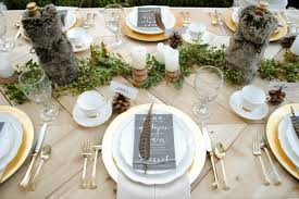7 stunning thanksgiving table settings for the holidays thanksgiving