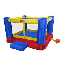 fisher price backyard mega inflatable bounce house inflatables