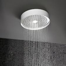 Ceiling Mounted Rain Shower by Round Ceiling Mounted Rain Shower With Light 320mm Streamline