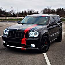 matte green jeep grand cherokee graphic decal stripe for jeep grand cherokee srt roof fender bed