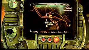 Fallout New Vegas Map With All Locations by Fallout New Vegas Vault 11 Location Youtube