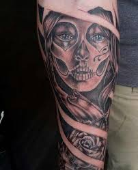 day of dead tattoo tattoo collections