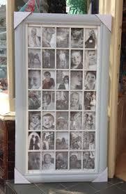grey multi photo frame thirty five 4x6 photos