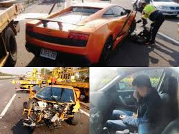 crashed lamborghini man borrows lamborghini gallardo to his petrolhead friend gets it