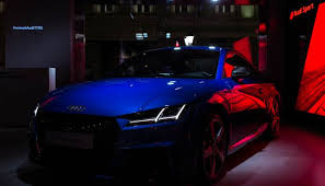 history of audi tt the premiere of the most powerful audi tt rs in history was held