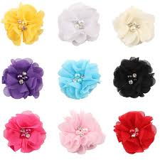 handmade hair bows 9pc lot headband bows alligator hair kids