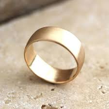 weddings 10k wide men s gold wedding ring 8mm low dome men s wedding band