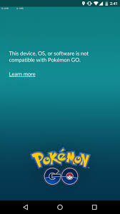latest update pokémon go blocks rooted devices from entering