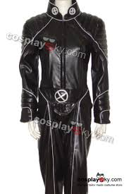 Men Black Halloween Costume Men Storm Halle Berry Jumpsuit Costume Hand Cosplaysky