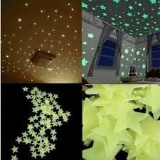 Glow In The Dark Home Decor 100pcs Glow In The Dark Wall Stars Www Urmusthaves Bigcartel Com