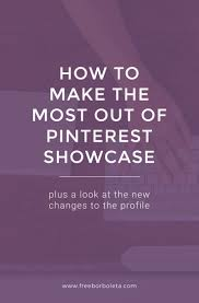 best 25 latest updates ideas on pinterest bloggers have you seen pinterest s new showcase feature learn how to make the most