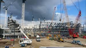 new stadium update tottenham u0027s new stadium sites talking to fans