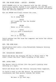a movie script online