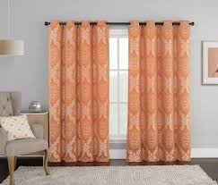 And Orange Curtains Simple Orange Curtains For Living Room Orange Curtains For