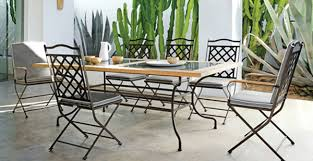 wrought iron outdoor dining table 53 iron table and chairs set wrought iron dining set 3d model