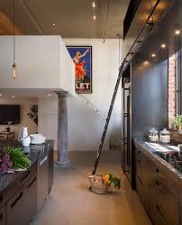 Objet Deco Cuisine Design by Cuisine En Acier Dans Un Loft à San Francisco
