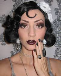 Girls Halloween Makeup Glitter Is My 1920 U0027s Flapper Makeup Costume Look