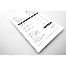 Illustration Invoice Template Clean Invoice Template Vol 2 By Bddesignhub Graphicriver