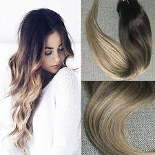 ombre extensions ombré clip in hair extensions ebay