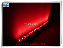Outdoor Led Light Strips Dmx 512 Led Light 24x10w Rgbw 4in1 Led Wash Wall