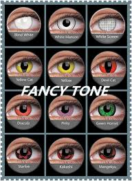 halloween contact lenses colored contacts white screen devil