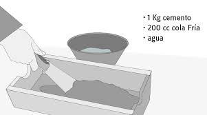 Como Hacer Cemento Cola