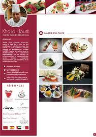 cherche chef de cuisine khalid housti cv fr web