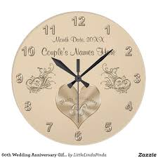 anniversary clock gifts 94 best 60th anniversary gifts personalized images on
