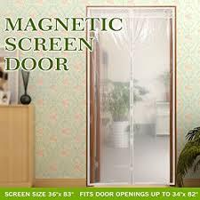 Screen Curtain Ipad Transparent Magnetic Screen Door Curtain Prevent Air Conditioning