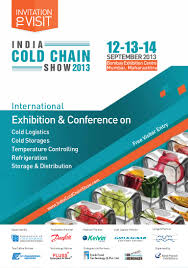 Invitation Card Software Visitor Invitation Card For India Cold Chain Show 2013