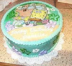 spongebob squarepants cake http www cake decorating corner com