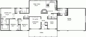 5 bedroom ranch house plans 3 bedroom 2 5 bath ranch floor plans glif org