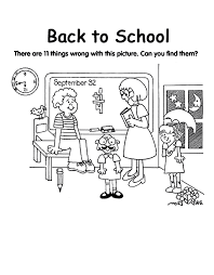 coloring page school back to school free coloring pages crayola